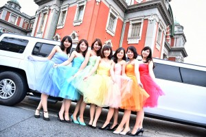 色違いで虹色のドレスコード