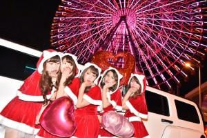 クリスマスリムジン大阪
