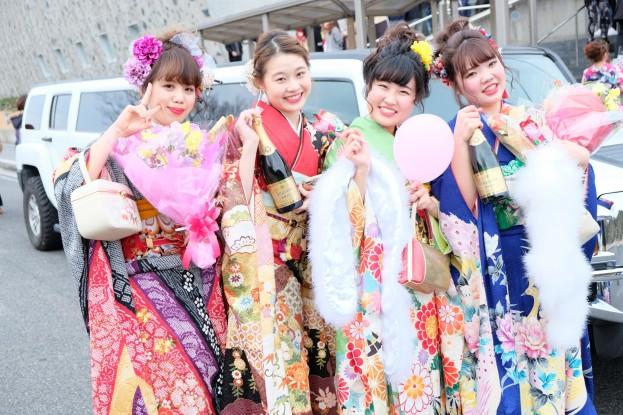 日本で1番の成人式リムジン