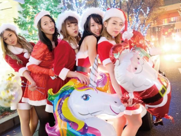クリスマス限定リムジン