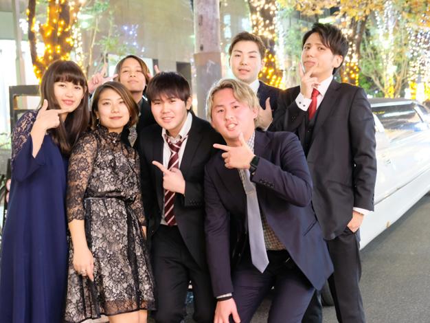新年会リムジン大阪